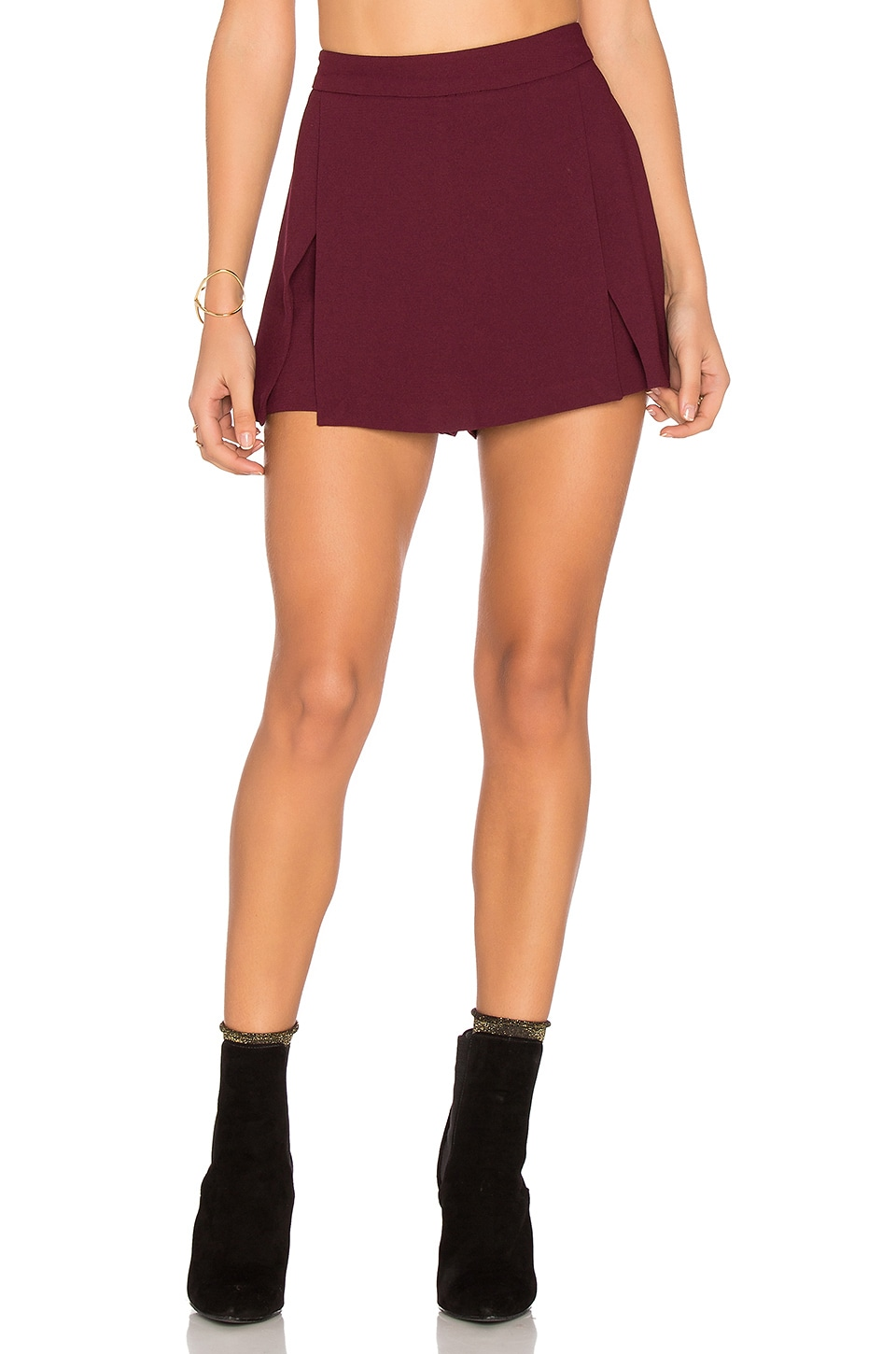 BCBGeneration Mini Skort in Brulee
