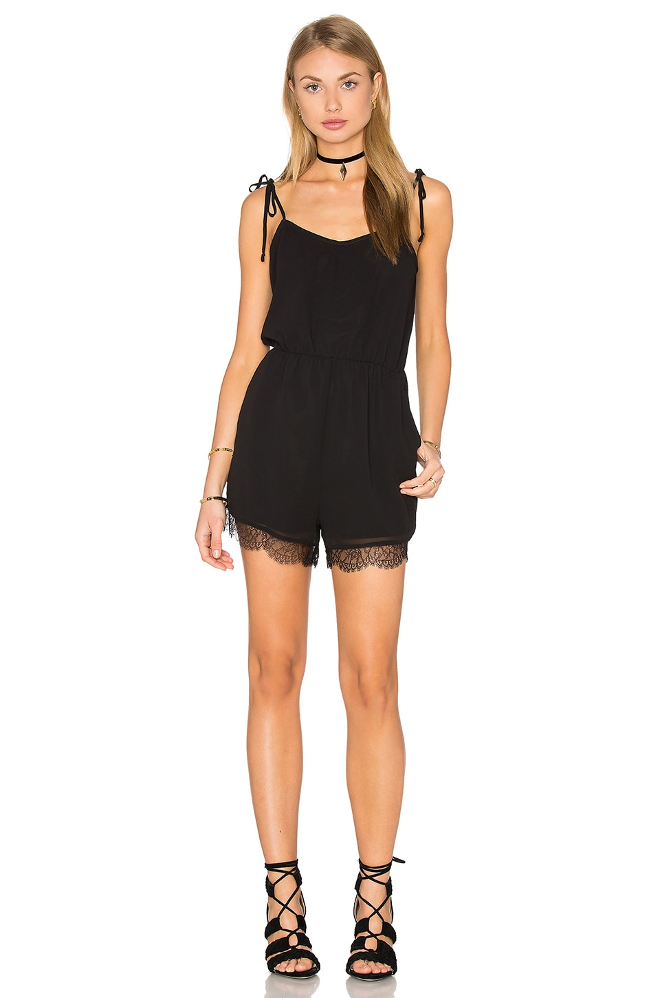 BCBGeneration Romper in Black