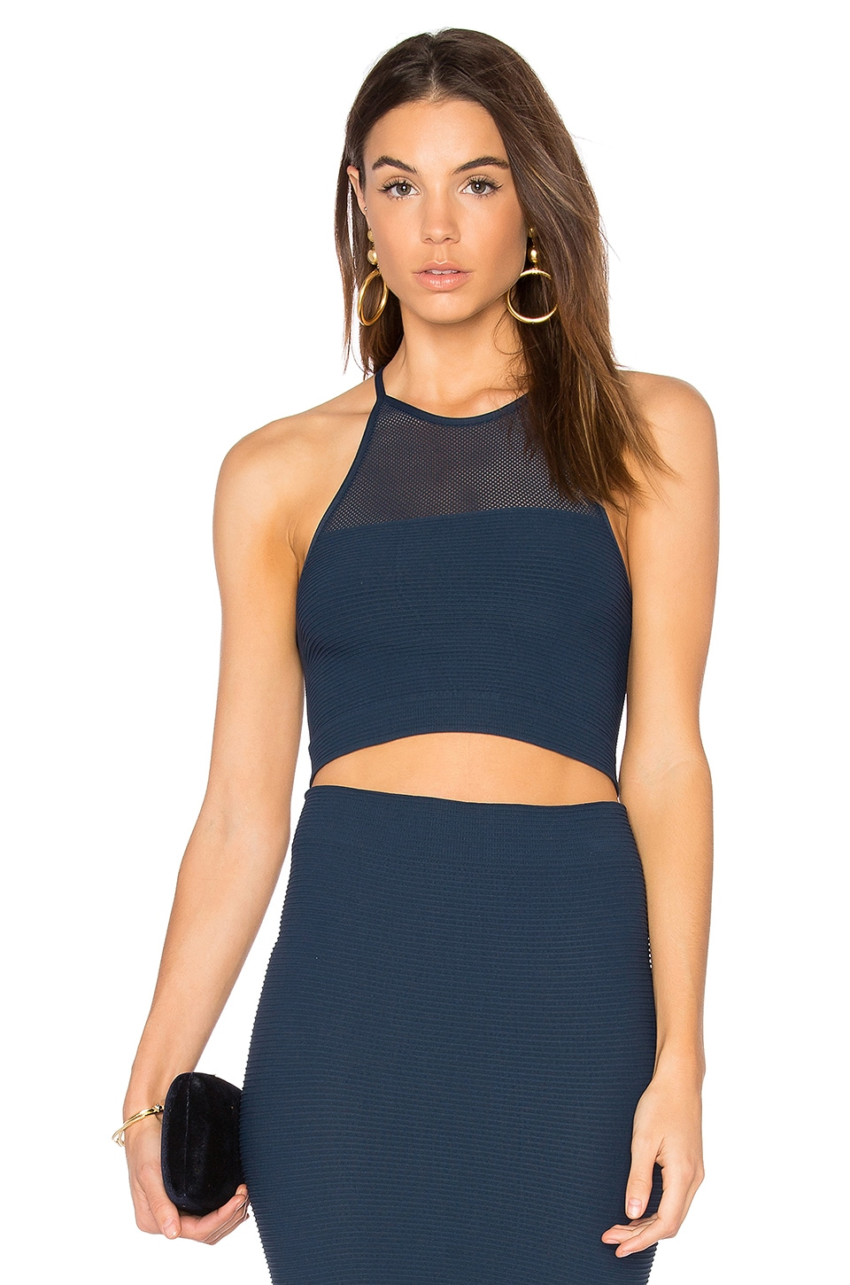Mesh Crop Tank by Bcbgeneration