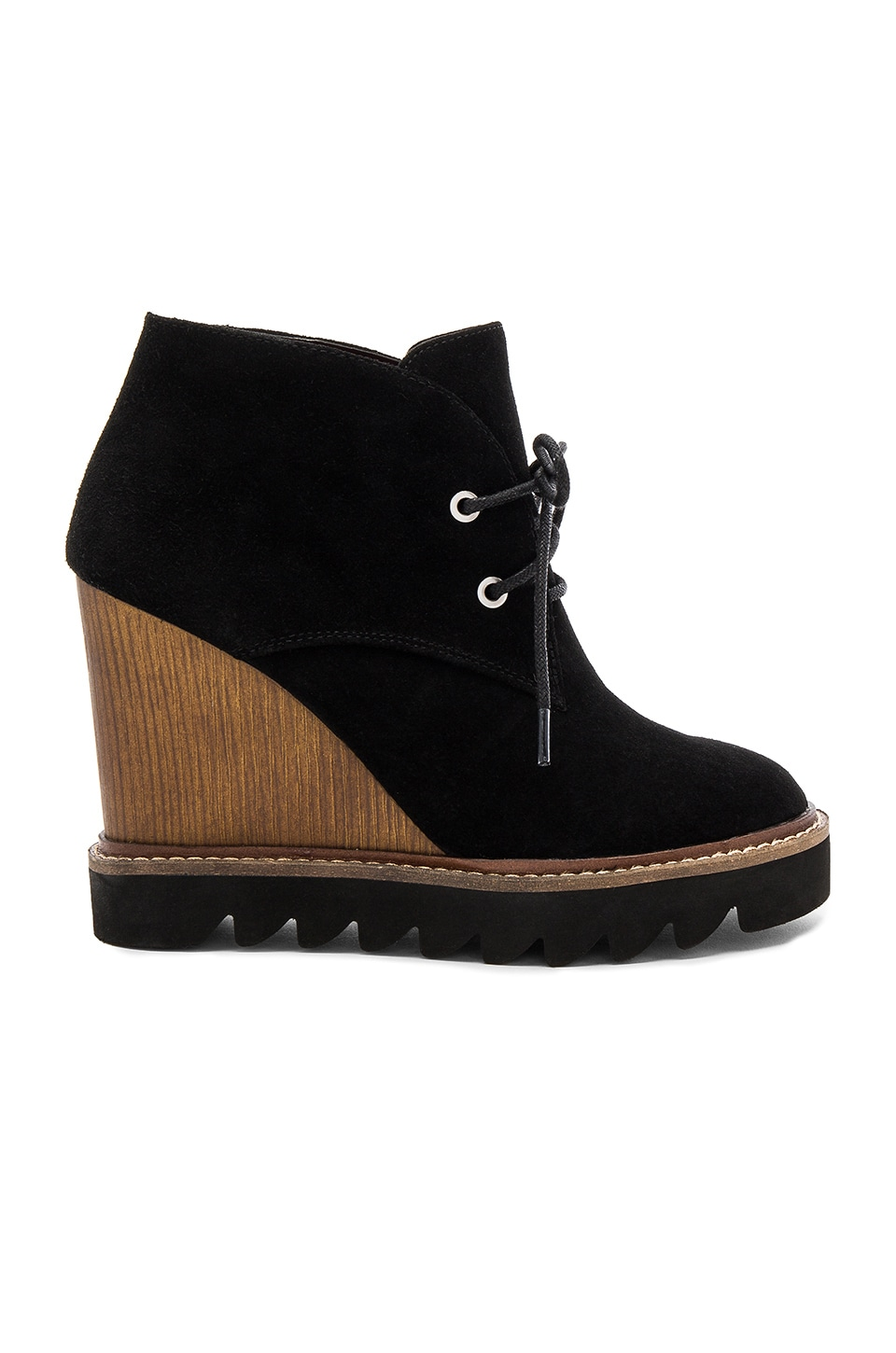 BCBGeneration Nariska Wedge Bootie in Black