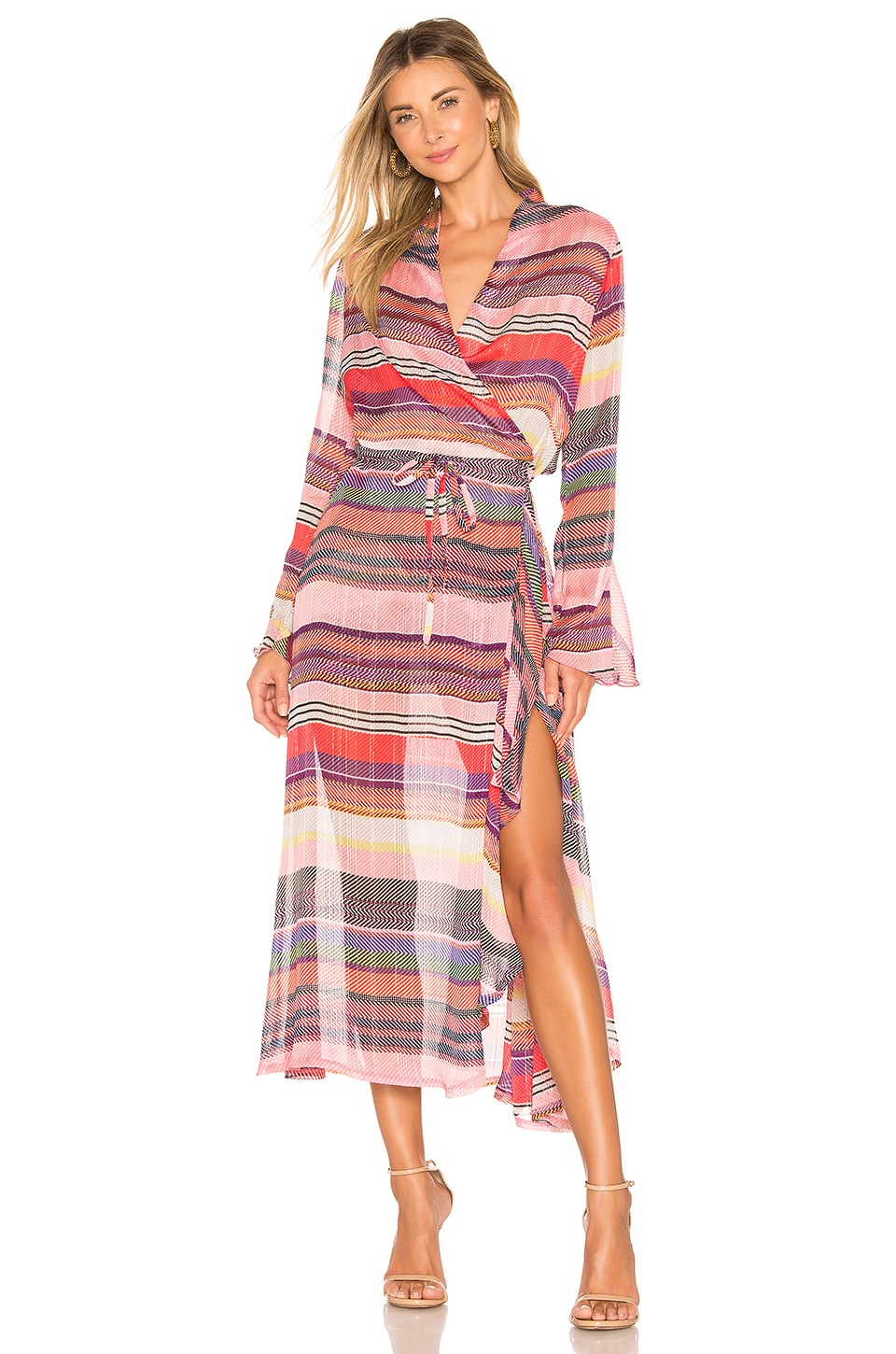 Birgitte Herskind Rillo Dress in Multi Stripe