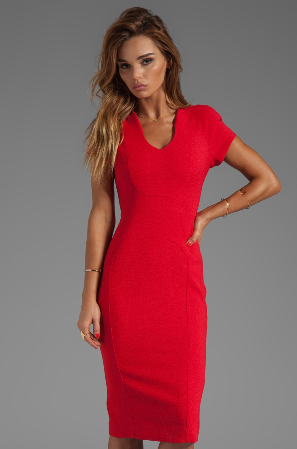 Black Halo Gypsy Rose Sheath Dress in Wildfire | REVOLVE