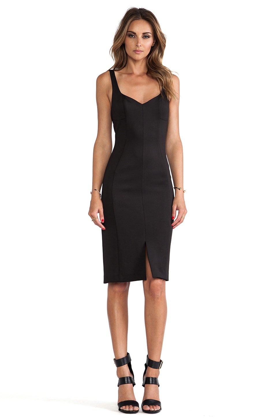 Black Halo Jace Sheath Dress in Black