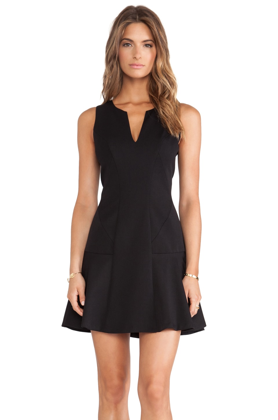 Black Halo x REVOLVE Nova Mini Dress in Black
