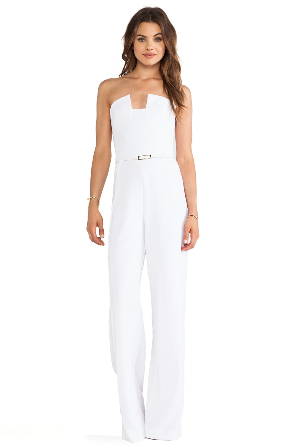 Black Halo X REVOLVE Lena Jumpsuit in White