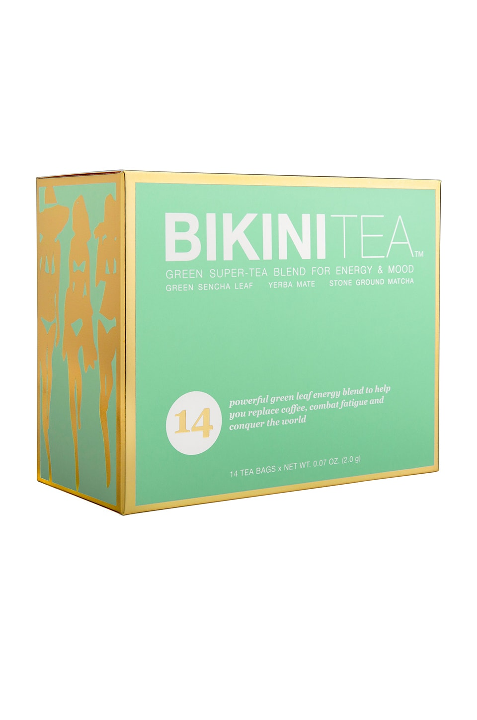 BIKINI CLEANSE Bikini Tea: Green Energy Boost in Beauty: Na