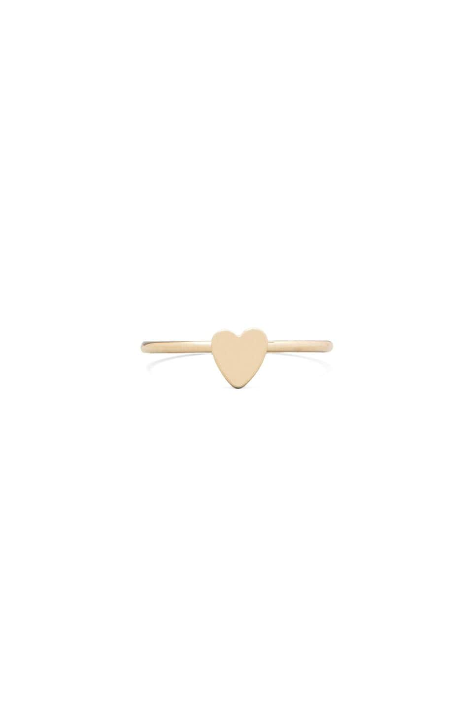 Bing Bang Heart Ring in Yellow Gold