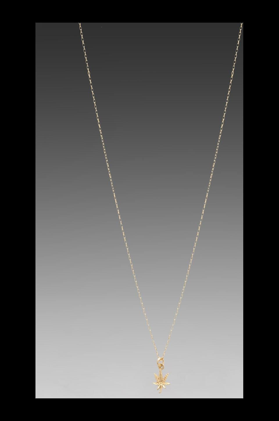 Bing Bang Mary Jane Necklace in Yellow Gold