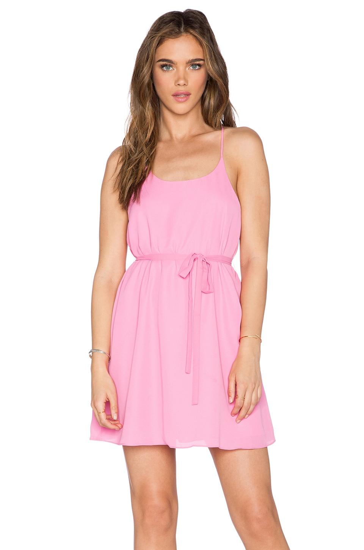 Bishop + Young Juliana Strap Dress in Pink