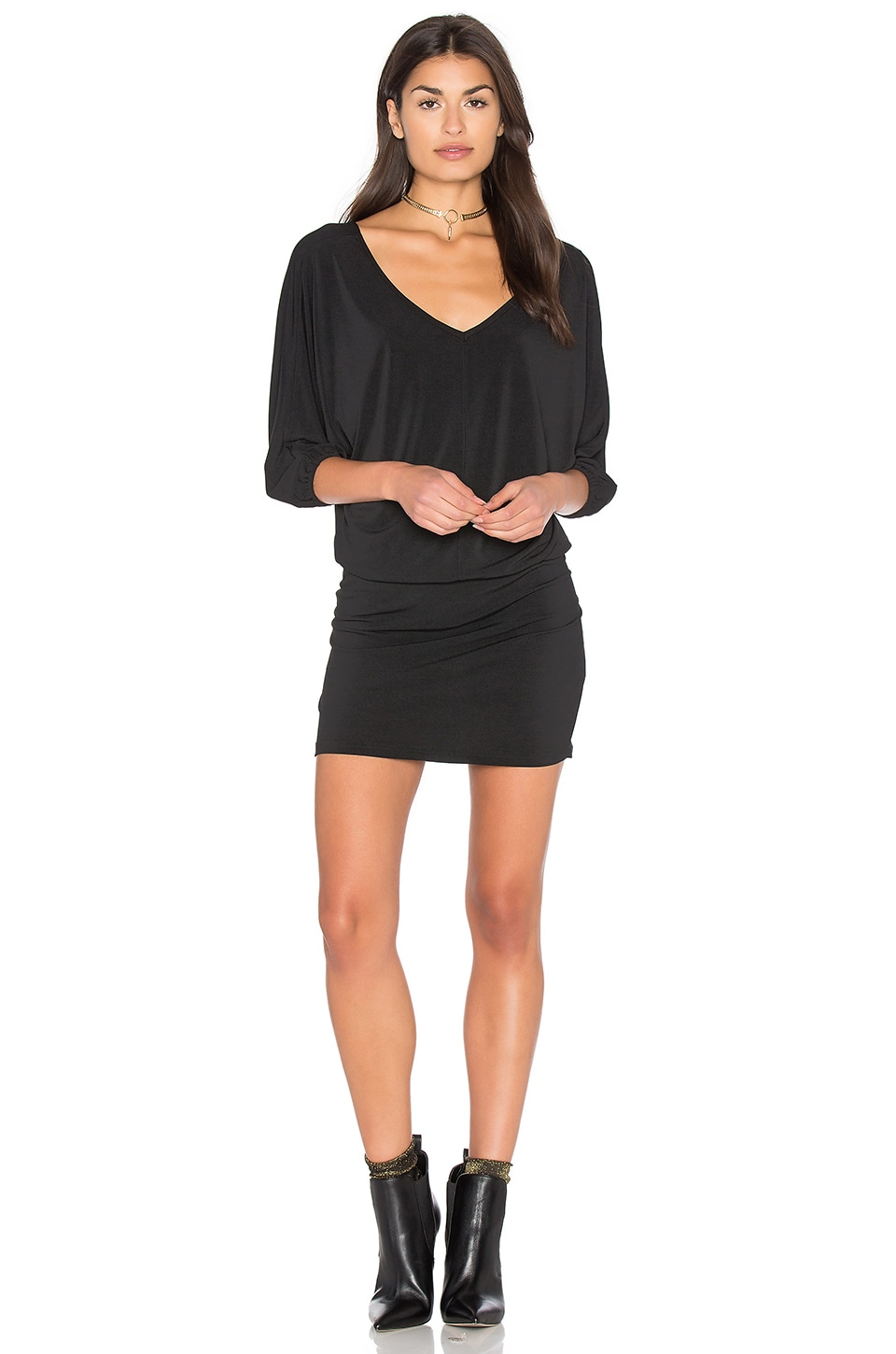 Double V Dolman Dress by Bishop + Young