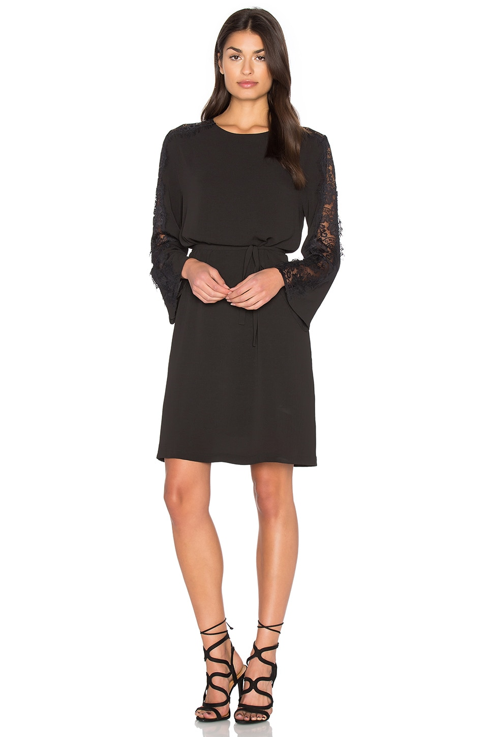 Lace Bell Sleeve Dress by Bishop + Young