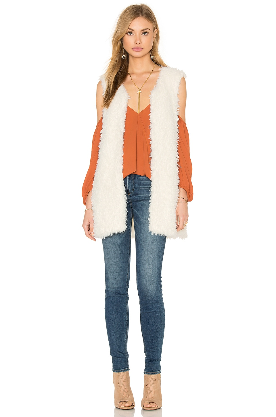 Faux Fur Vest by Bishop + Young