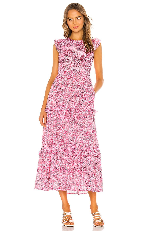 Iris Dress, view 4, click to view large image.