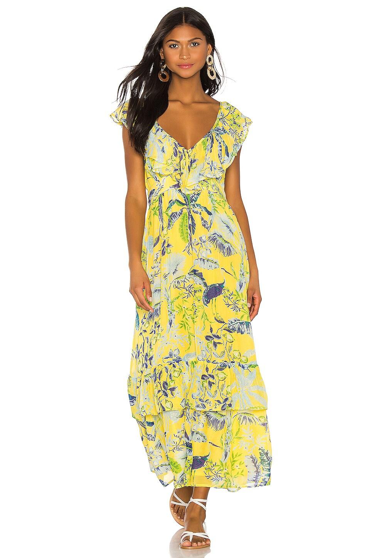 Banjanan Marina Dress in Lisbon Garden Sunshine