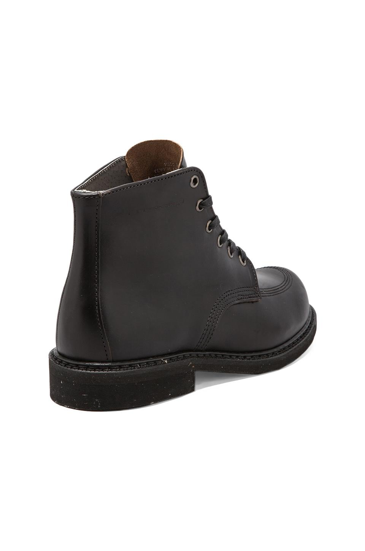 "Broken Homme Davis 6"" Boot in Black Logger"