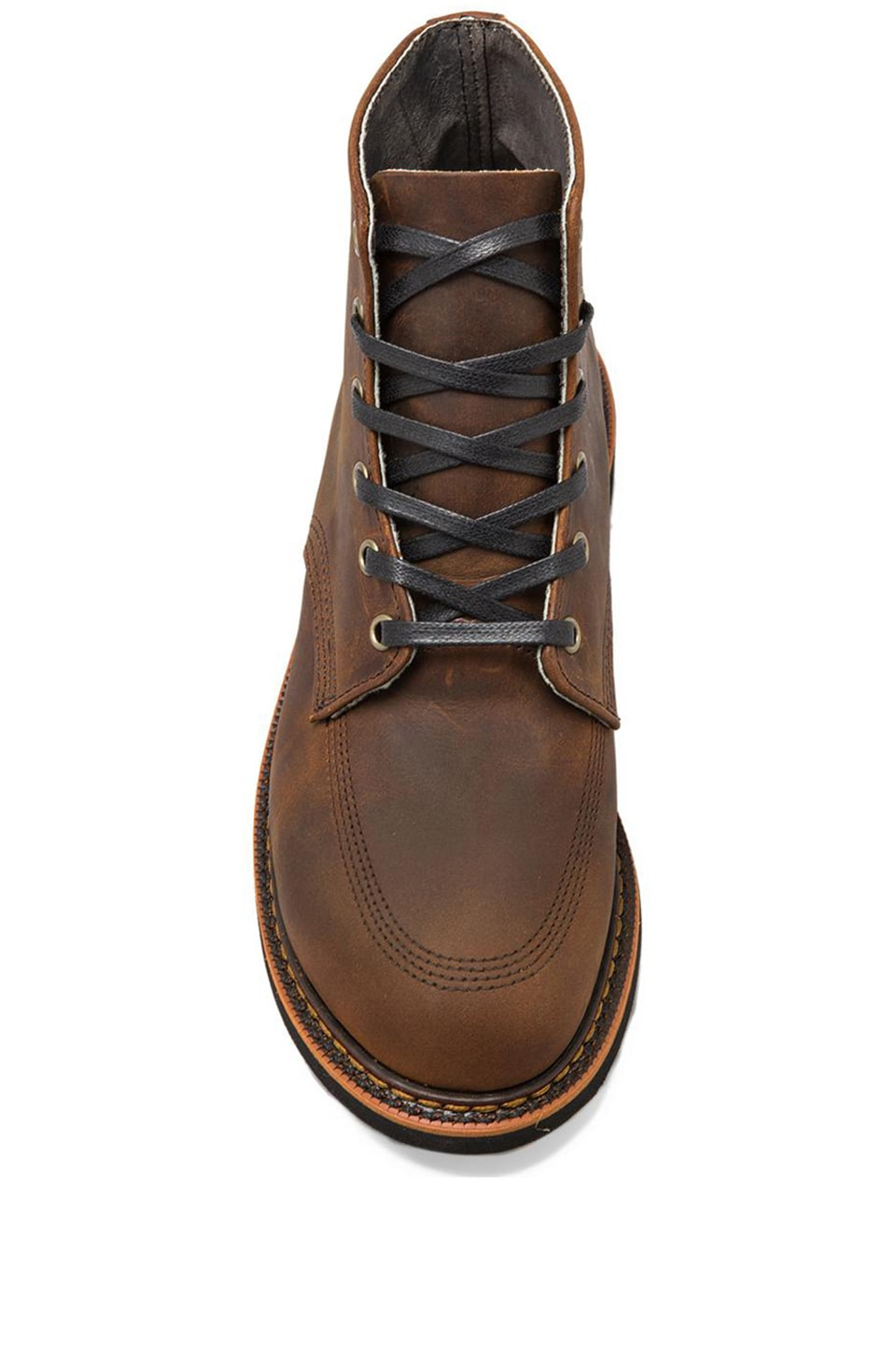 "Broken Homme Davis 6"" Boot in Brown Trail"