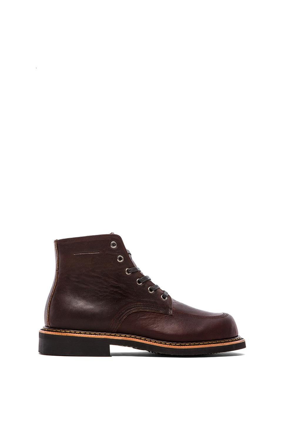 Broken Homme Davis Boot in Oxblood