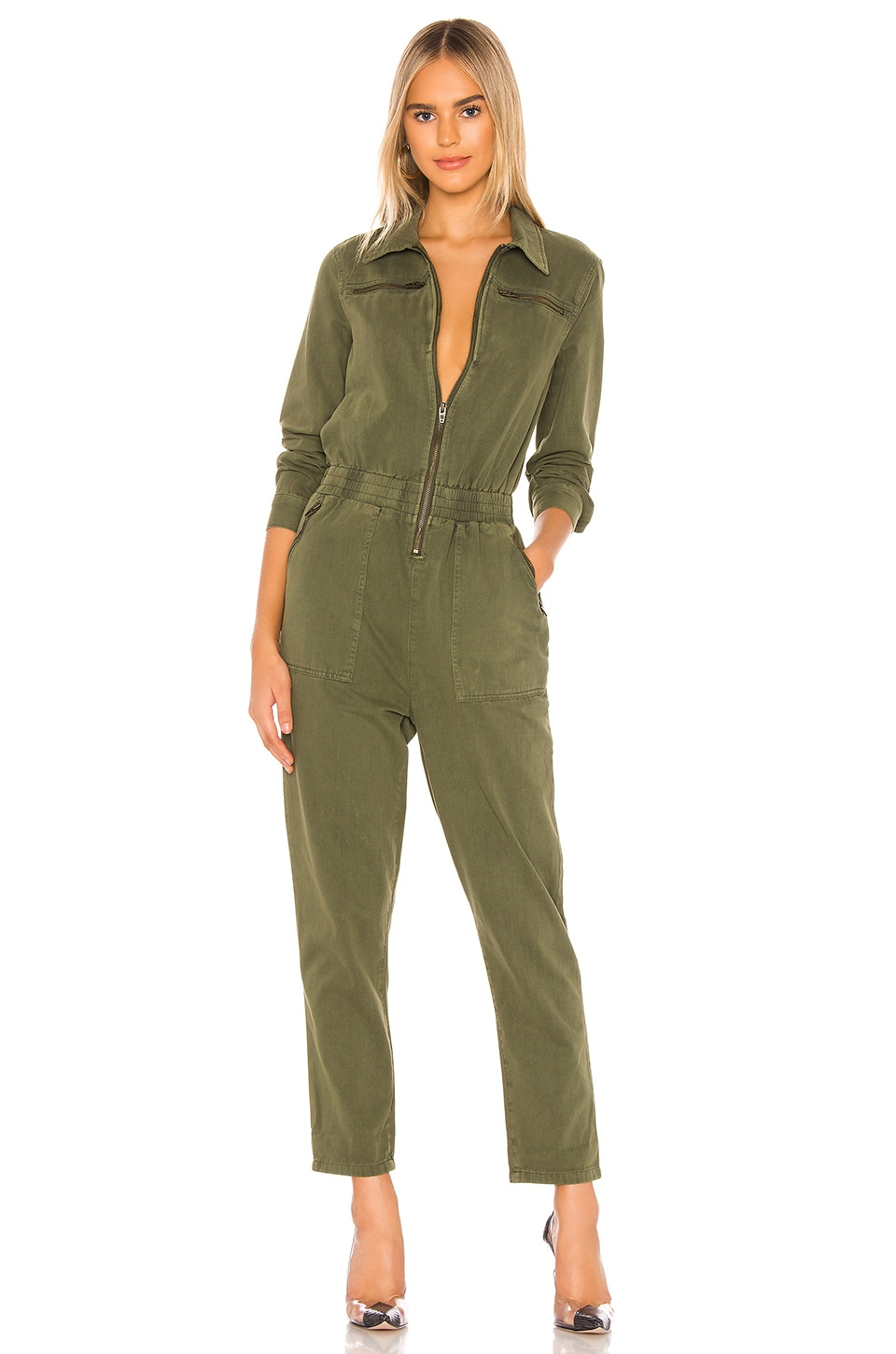 BLANKNYC Utility Jumpsuit in Mary Jane