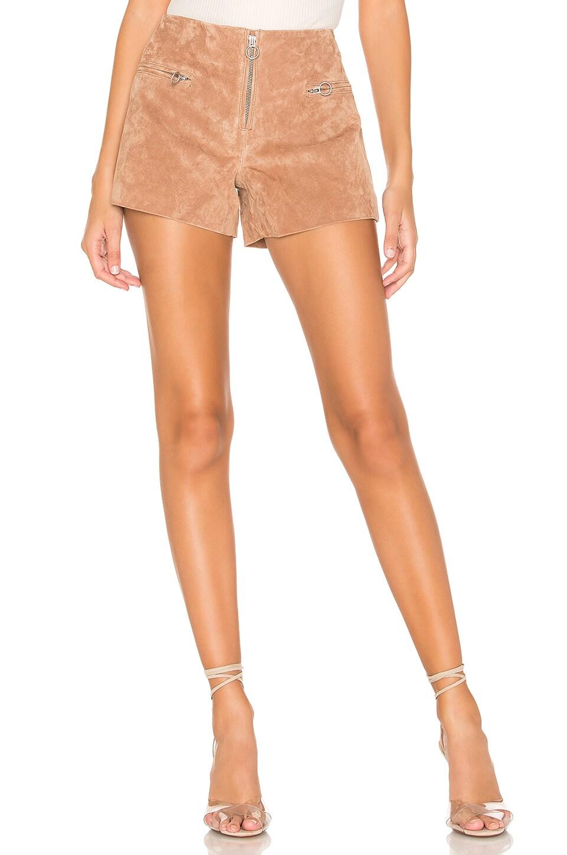 bons plans sur la mode le plus en vogue outlet à vendre BLANKNYC Short en daim en Hazelnut | REVOLVE
