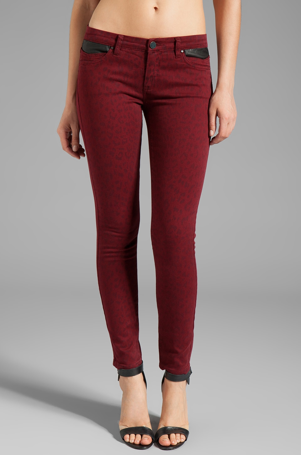 BLANKNYC Skinny in Animal Blood