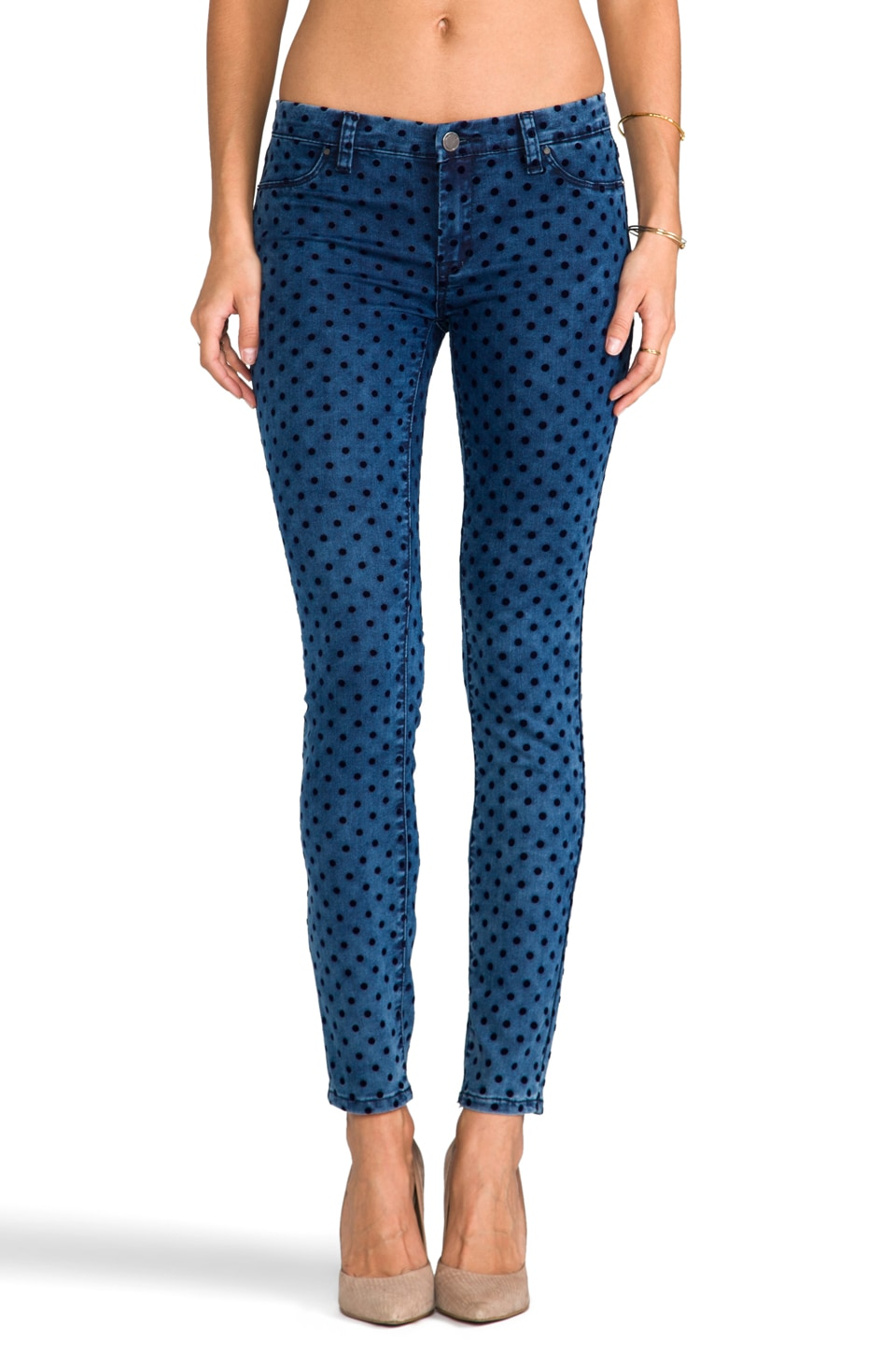 BLANKNYC Polka Dot Denim in Flucking