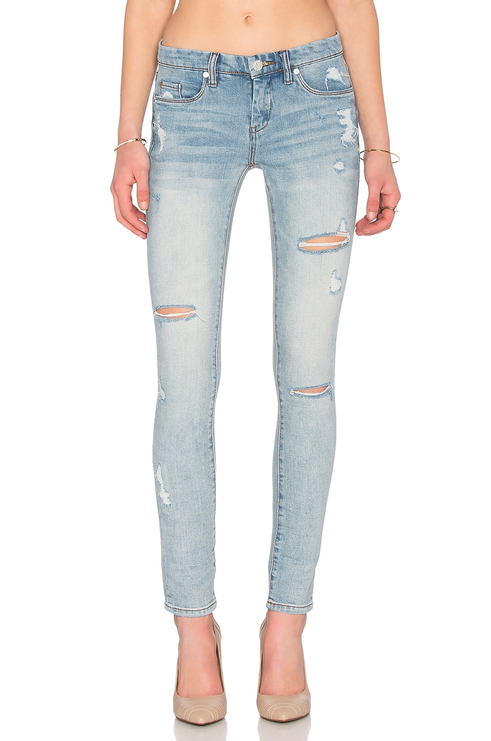 BLANKNYC Distressed Skinny in Secret Box