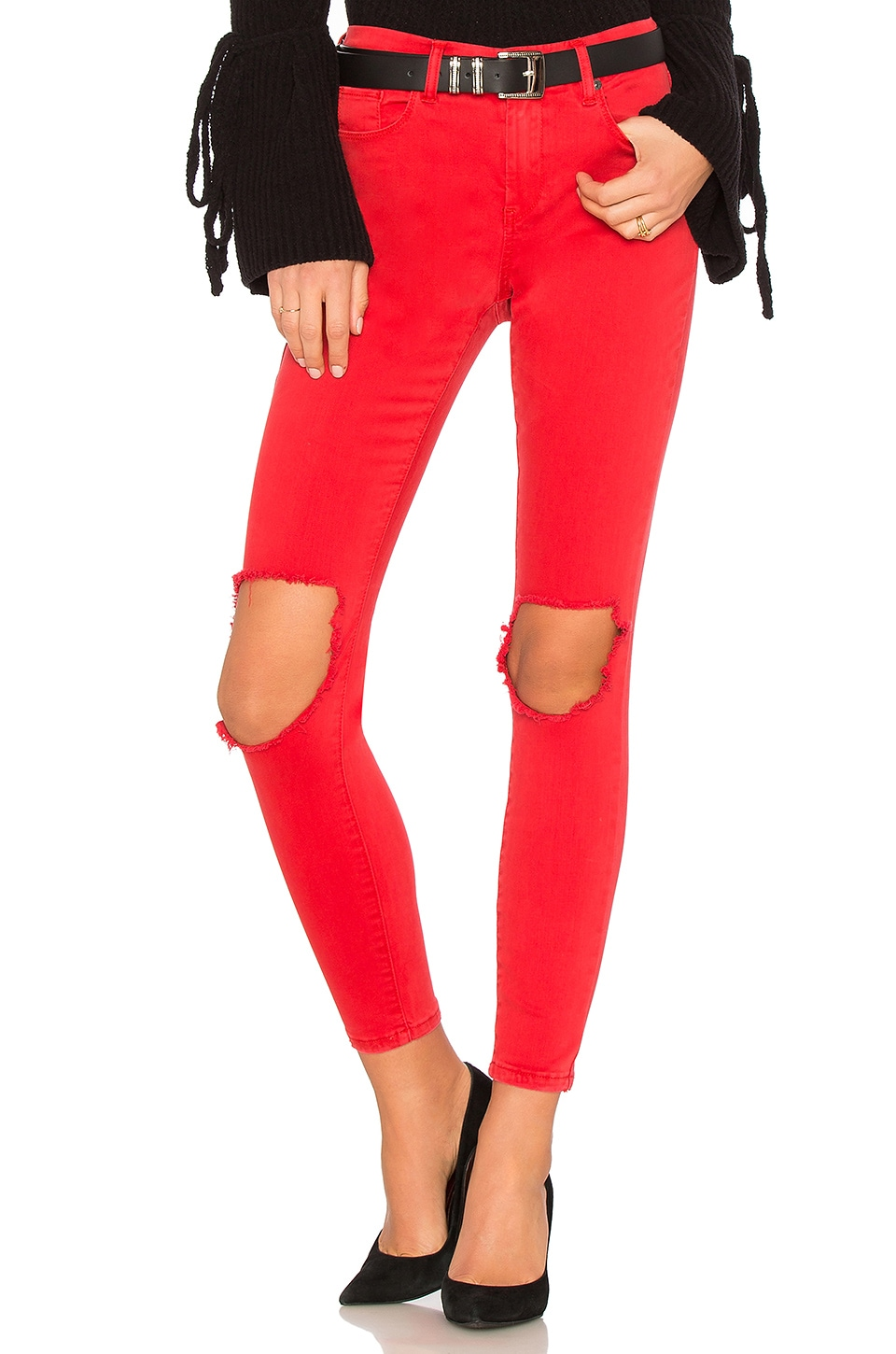 Better Off Red Jean