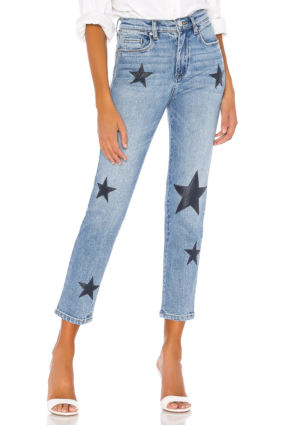 BLANKNYC The Madison Crop Skinny in Ever After