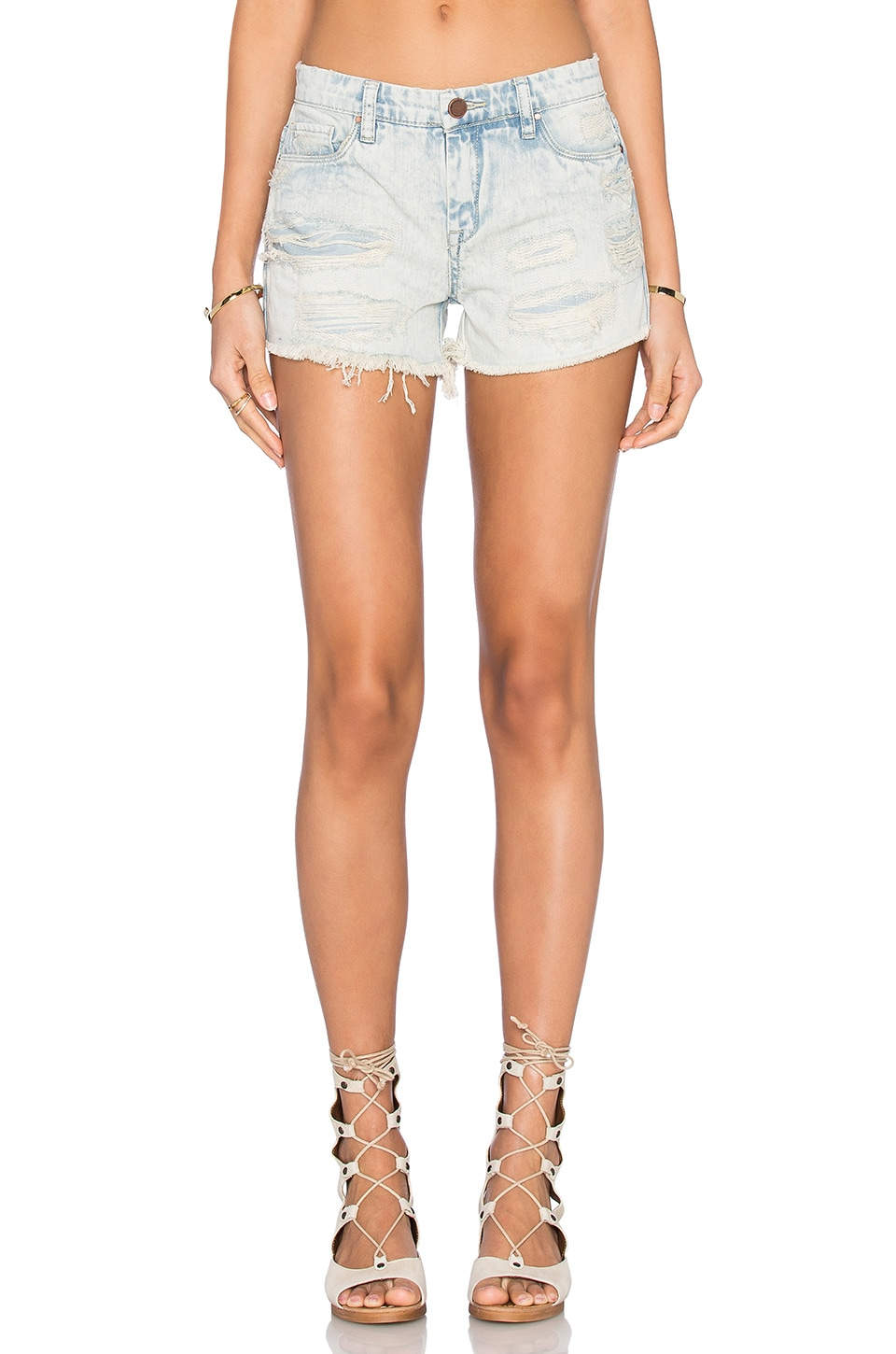 BLANKNYC Distressed Short in Girl Code