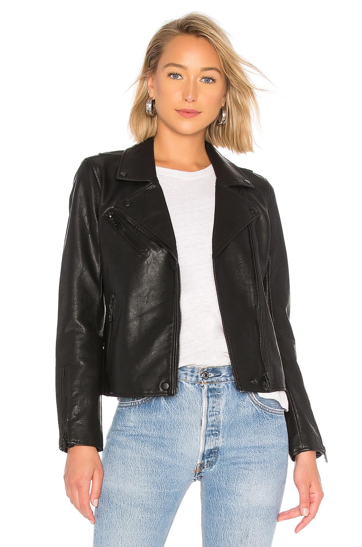 BLANKNYC Clean Moto Jacket in Onyx Black