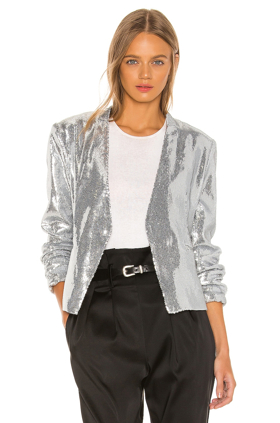 BLANKNYC Collarless Blazer in Astrology