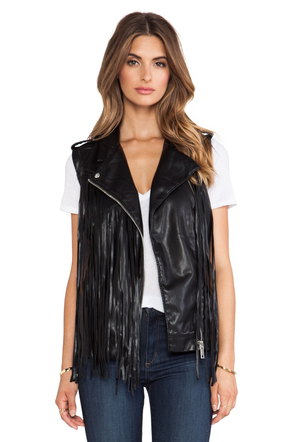 BLANKNYC Vest in Black Box