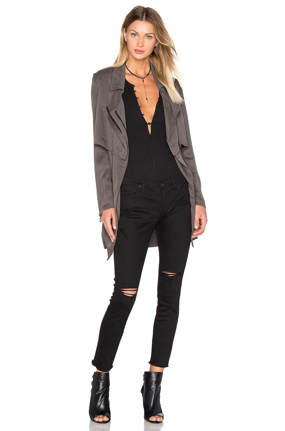 BLANKNYC Trench Coat in Day Dream