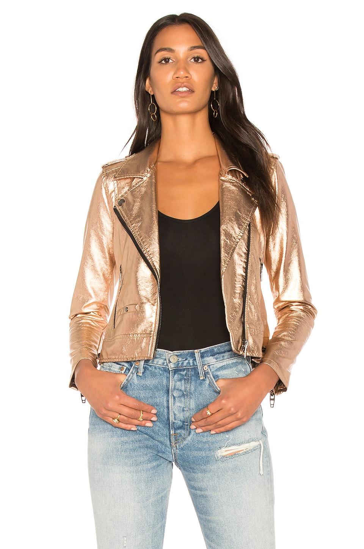 Metallic Moto Jacket by BLANKNYC