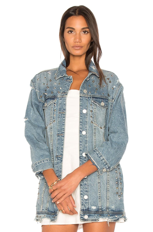 Distressed Denim Jacket by BLANKNYC