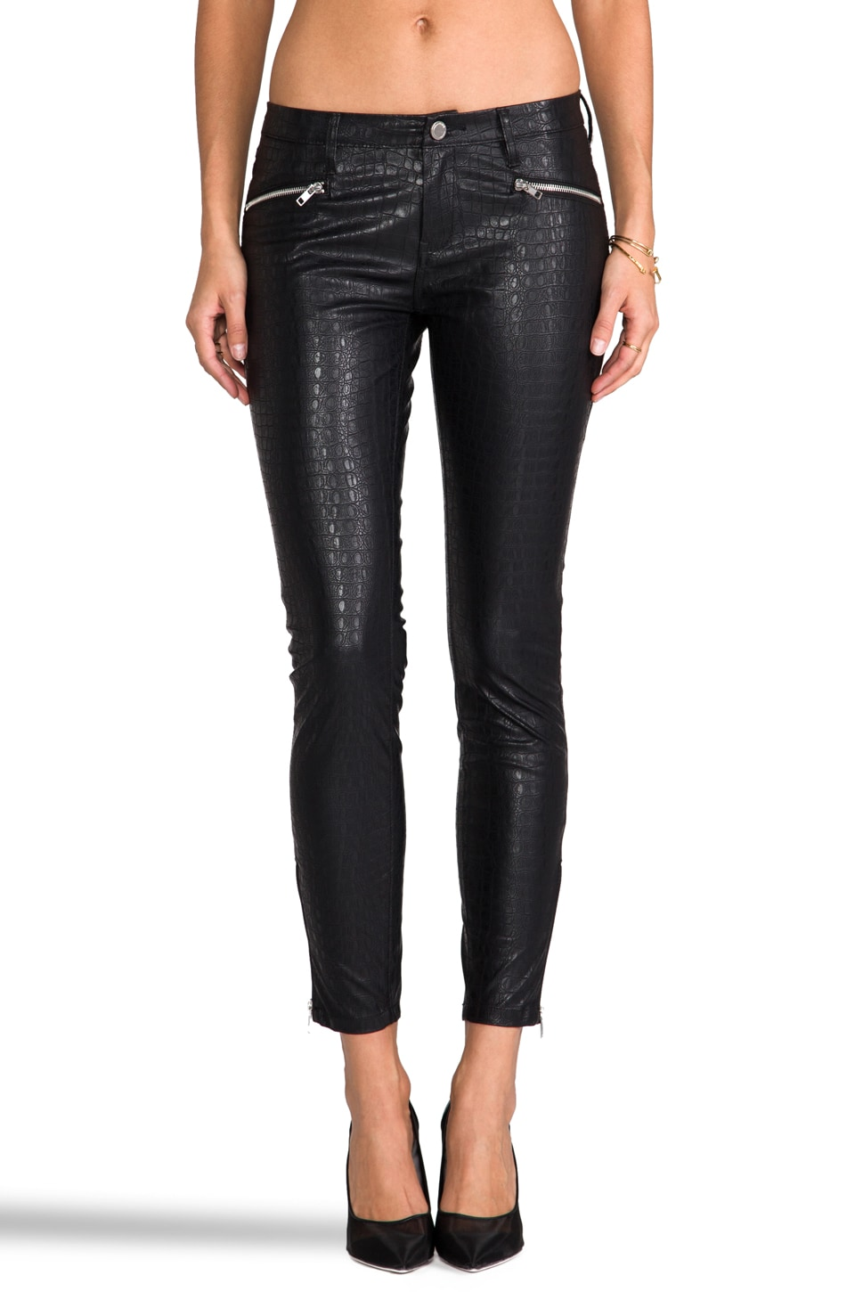 BLANKNYC Faux Leather Pants in It's Legit
