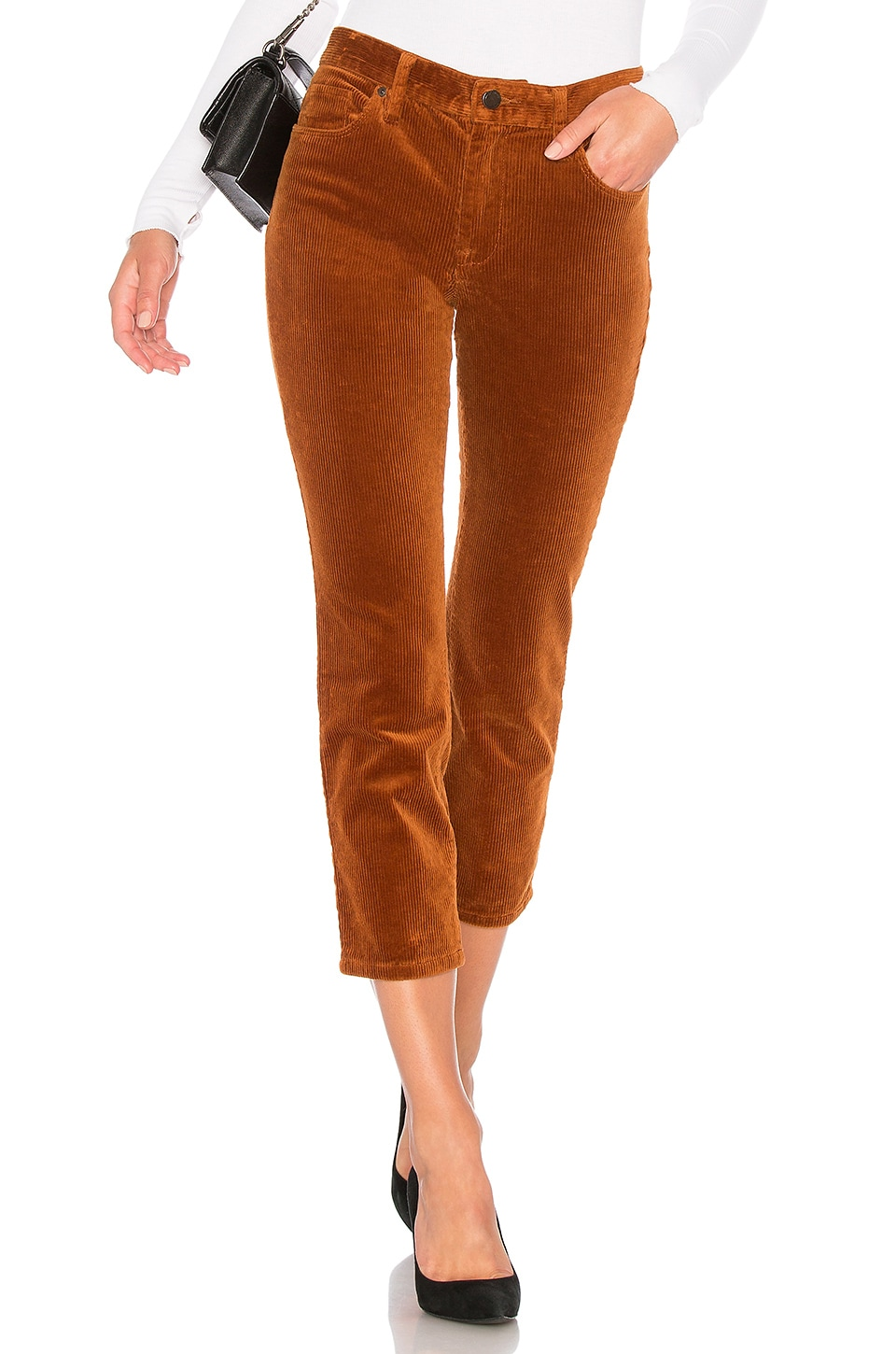 The Madison Crop Corduroy Pant