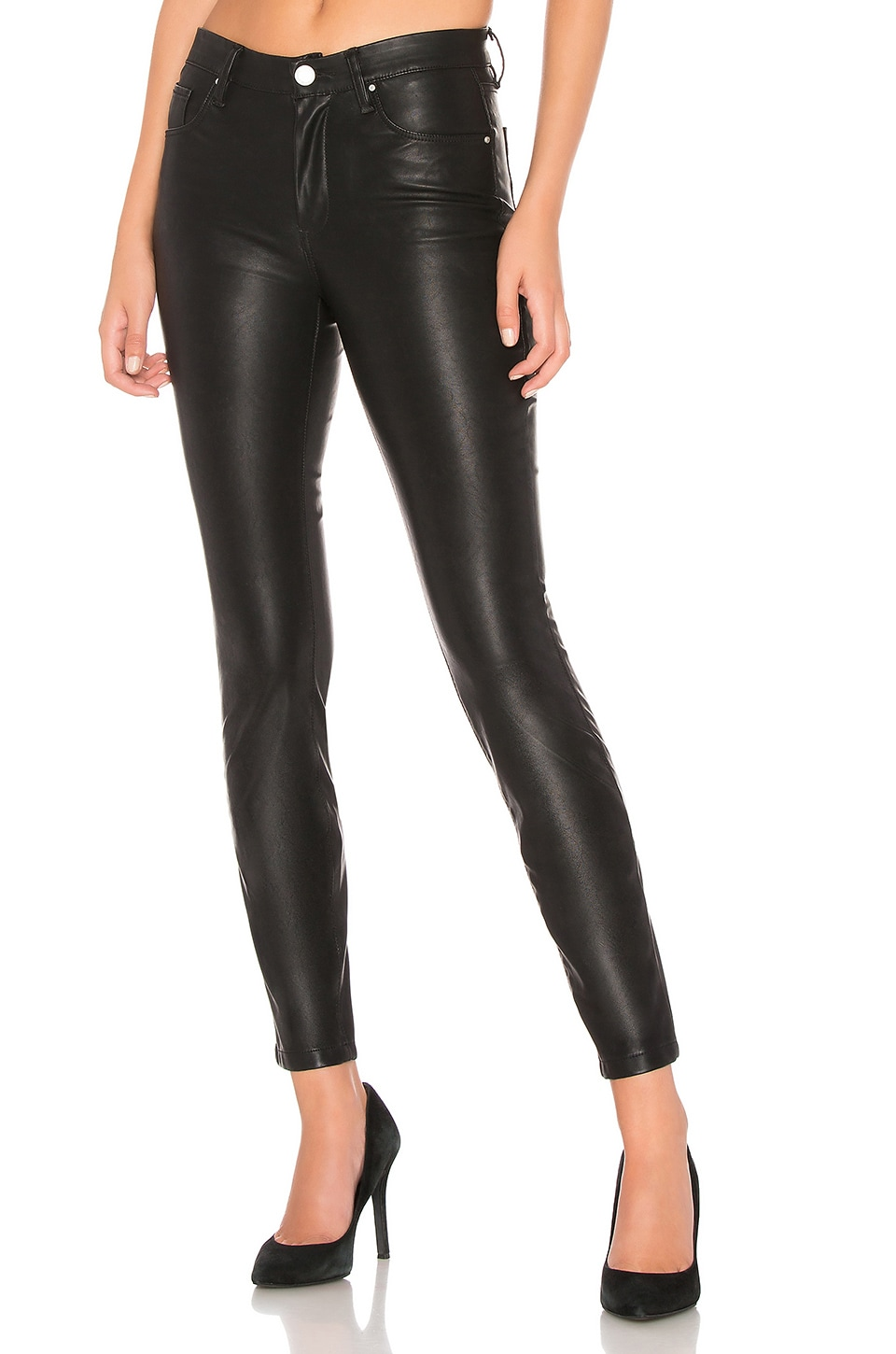 BLANKNYC Vegan Leather Pant in Boom Bap