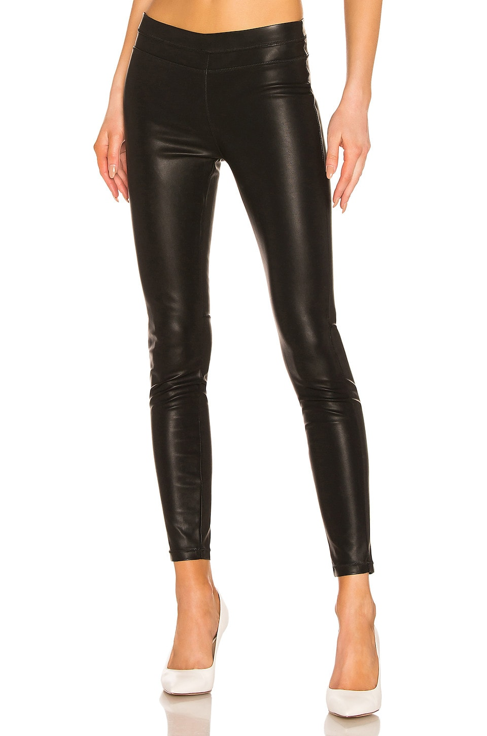 BLANKNYC Pussy Cat Vegan Leather Legging in Pussy Cat
