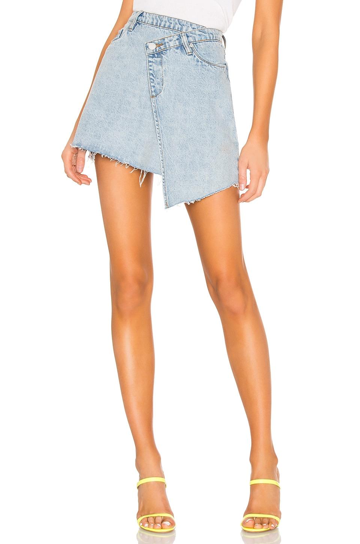 BLANKNYC Asymmetrical Skirt in Acid Trip