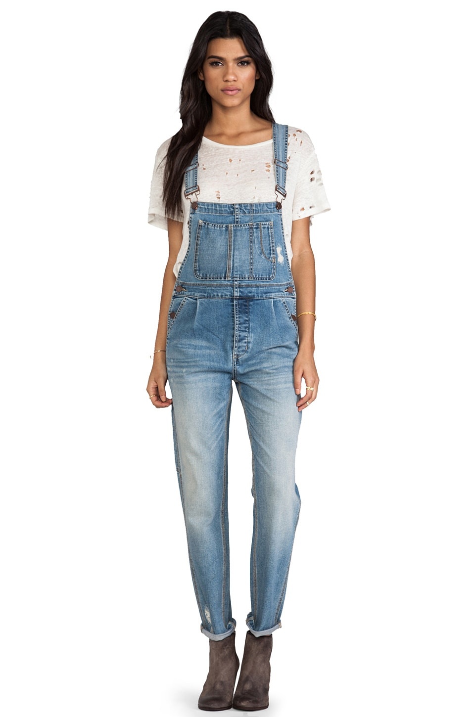 BLANKNYC Overalls in Bug Out