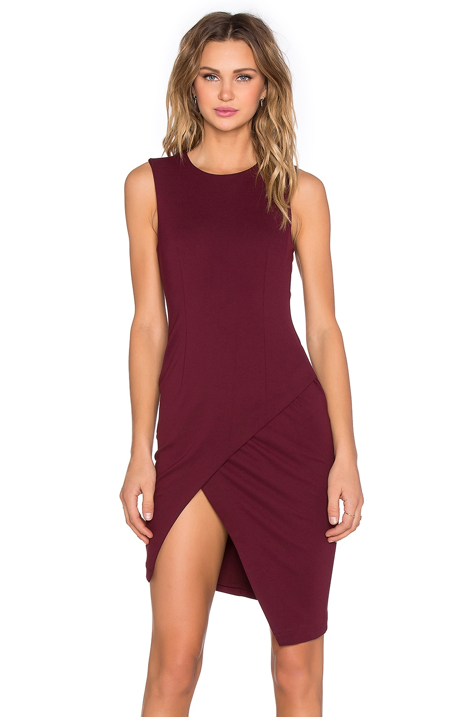 Asymmetrical Mini Dress by BLAQUE LABEL