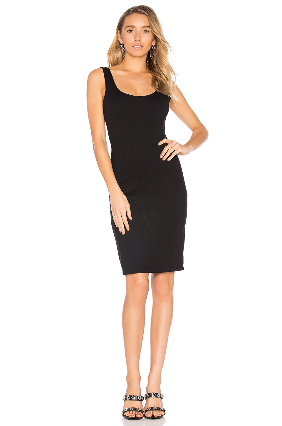Scoop Neck Dress by BLAQUE LABEL