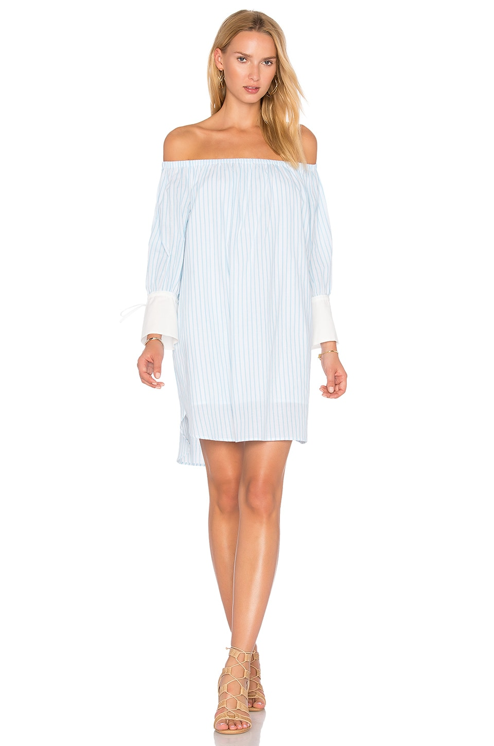 Striped Dress by Blaque Label