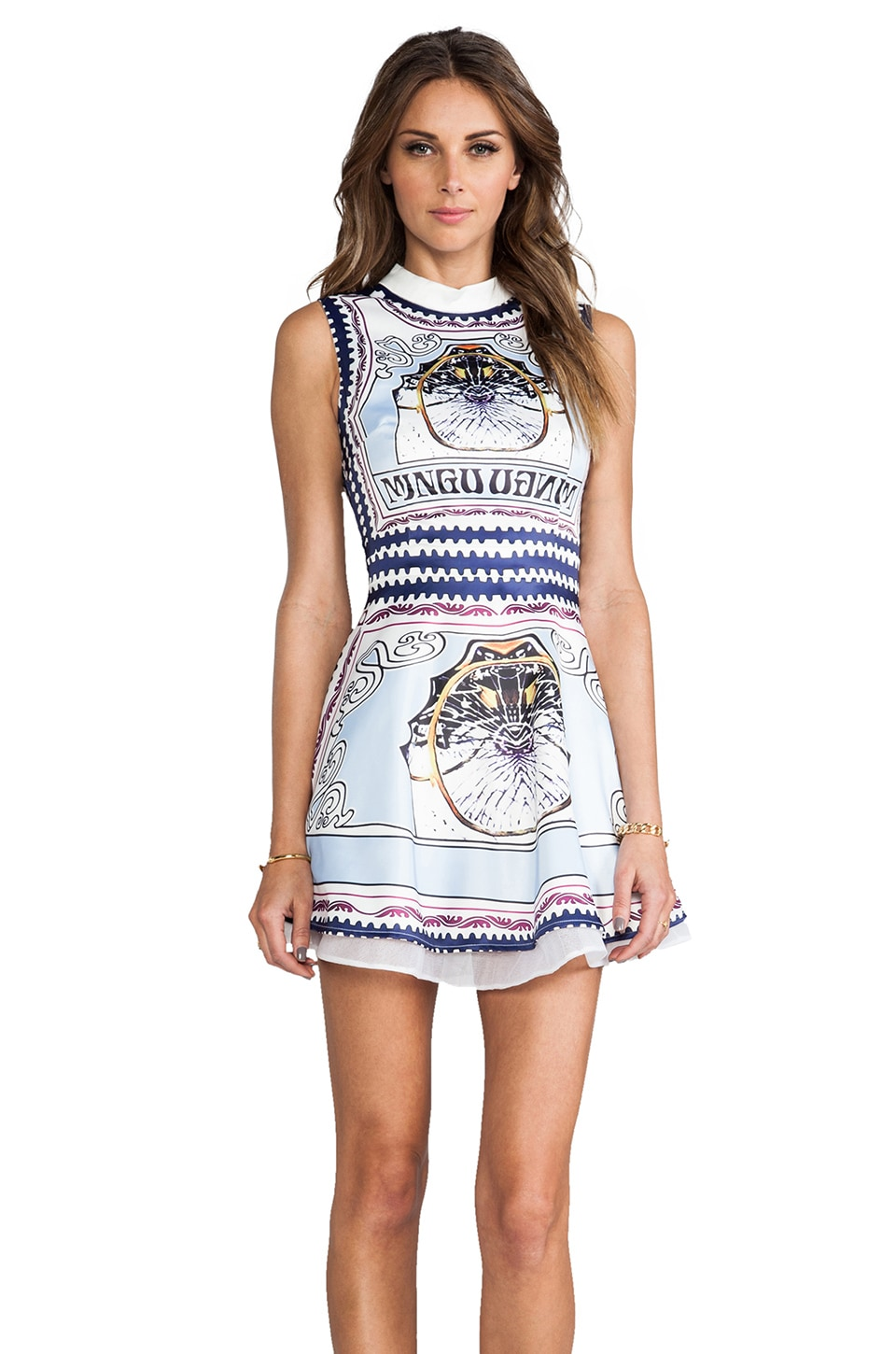 BLAQUE LABEL Print Dress in Sky