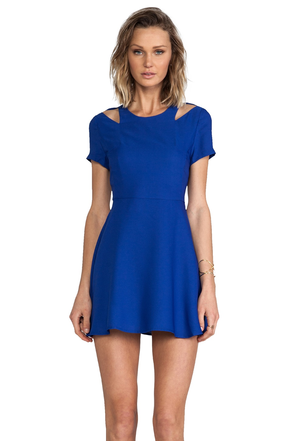 BLAQUE LABEL Dress in Royal Blue