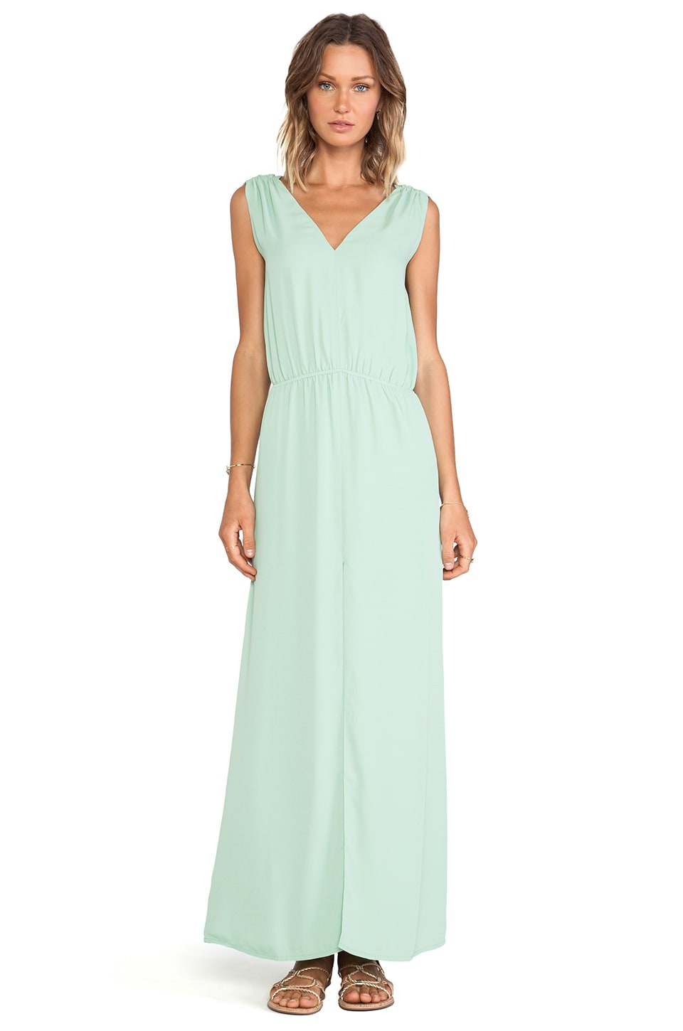BLAQUE LABEL Maxi Dress in Seafoam