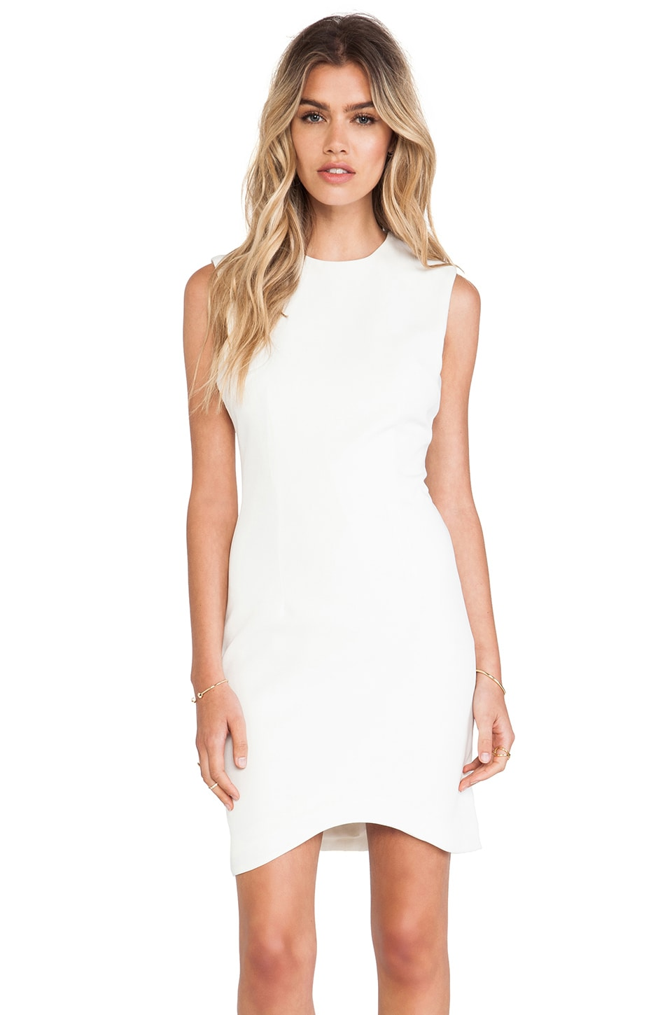 BLAQUE LABEL Favorite Mini Dress in White