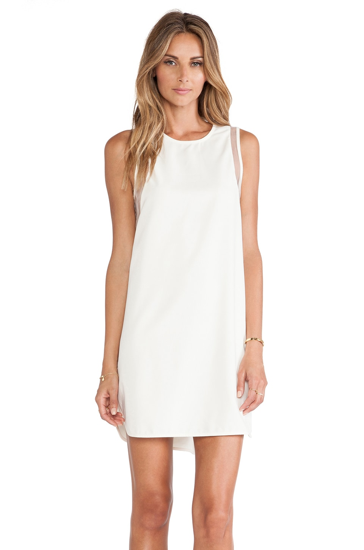 BLAQUE LABEL x REVOLVE EXCLUSIVE Shift Dress in White