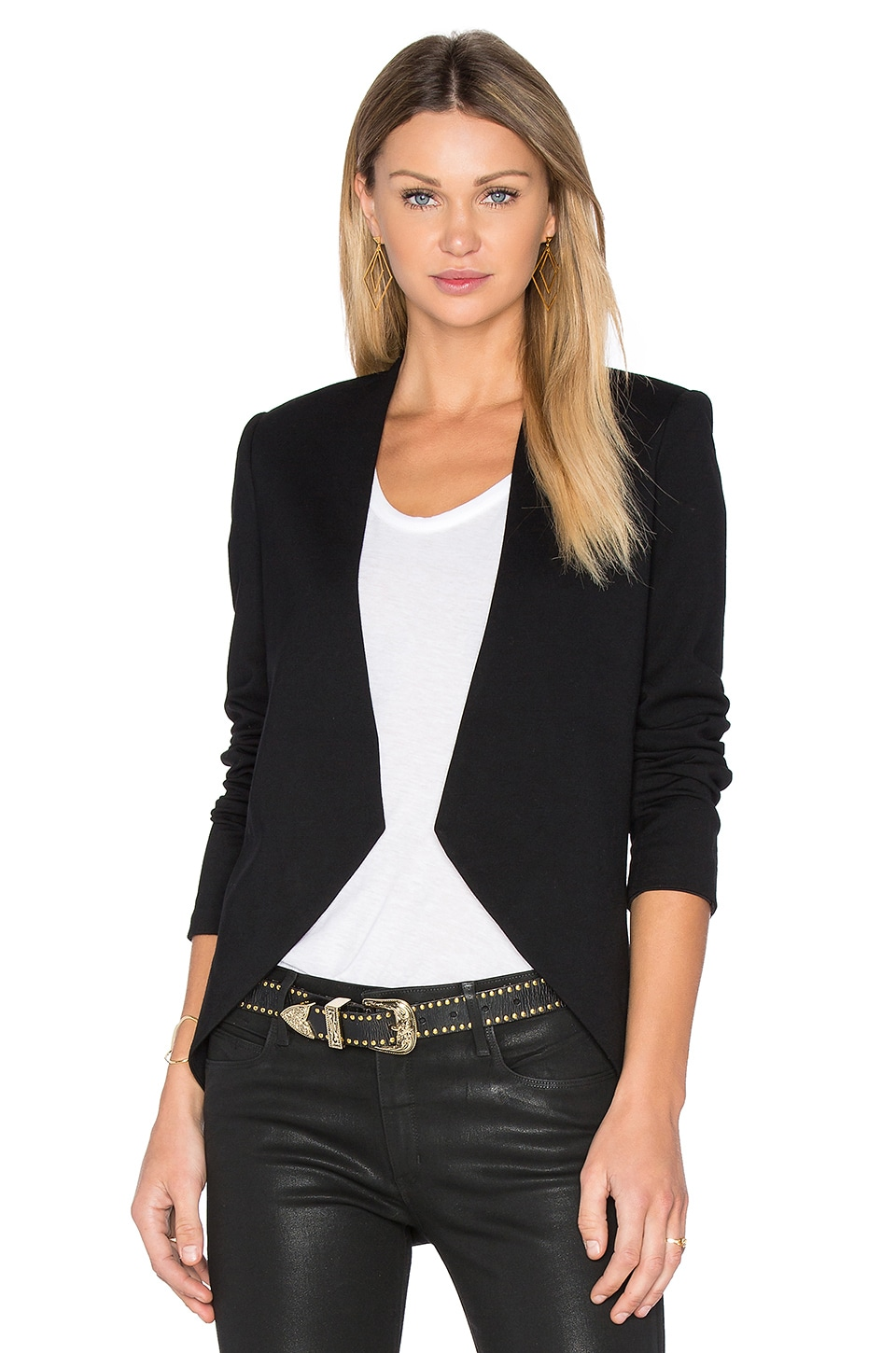 BLAQUE LABEL Sculpted Jacket in Black